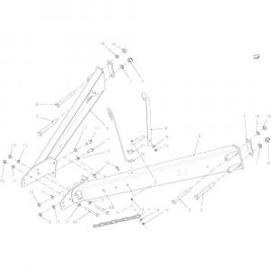 06 Uitrusting hefinrichting passend voor KUHN FB2135