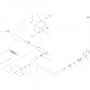 18 Hydraulische regelaar passend voor KUHN FB2135