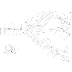 39 Spanner, ketting passend voor KUHN FB2135
