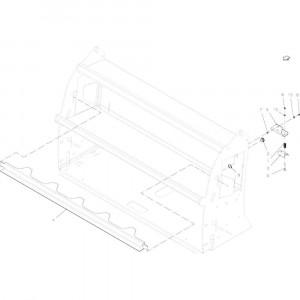 44 Adapter passend voor KUHN FB2135