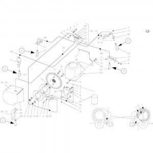 60 Smeersysteem passend voor KUHN FB2135