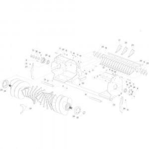 27 Rotor 14-0C passend voor KUHN FB3130