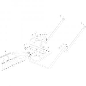 38 Hydraulische achterklep passend voor KUHN FB3130