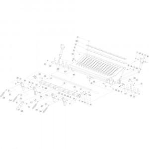 30 Valklep 14-0C passend voor KUHN FB3130