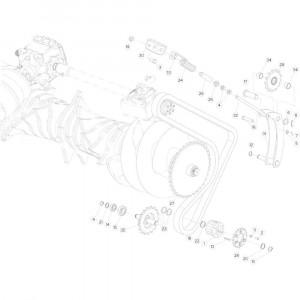 32 Kettingspanner passend voor KUHN FB3130