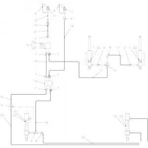 37 Hydraulisch R passend voor KUHN FB3130