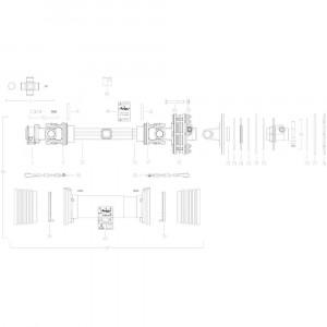 28 Transmissie 3 passend voor KUHN GMD280F