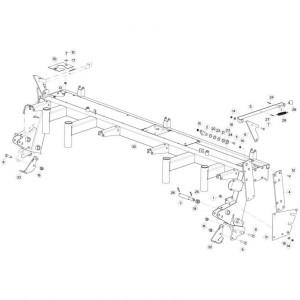 04 Steunbuis passend voor KUHN GMD310F-FF