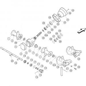 02 Hoofdframe-module passend voor KUHN GF3701