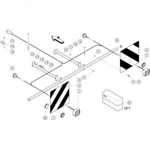 09 Aanduidingselementen passend voor KUHN GF3701