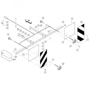 10 Aanduidingselementen passend voor KUHN GF3701