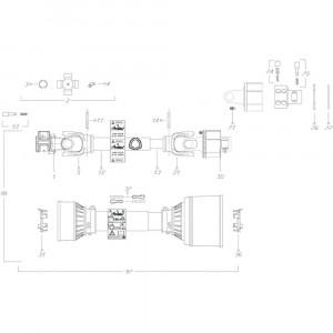 11 Transmissie 4500200 passend voor KUHN GF3701