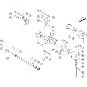 6 Transmissie 4500204 passend voor KUHN GF3701