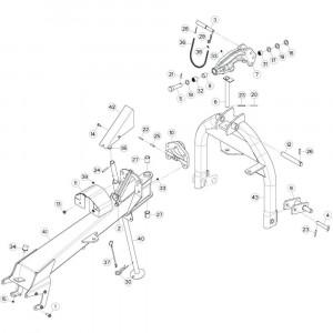 02 3-puntsframe passend voor KUHN GF5202