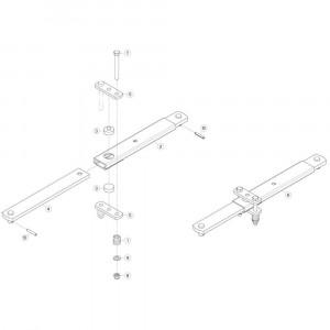03 Stabilisatiestang passend voor KUHN GF5202