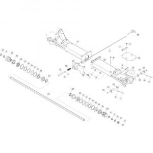 06 Centrale wing passend voor KUHN GF5202