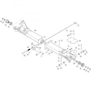 09 Centrale wing passend voor KUHN GF5202