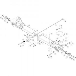 10 Centrale wing passend voor KUHN GF5202