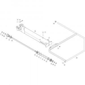 12 Buitenwing, rechts passend voor KUHN GF5202