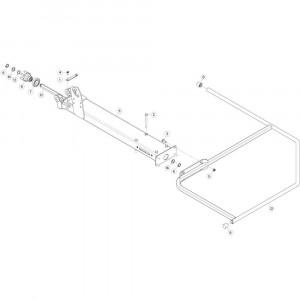 13 Buitenwing, rechts passend voor KUHN GF5202