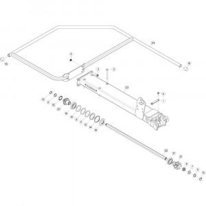 14 Buitenwing, links passend voor KUHN GF5202