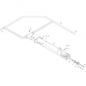 16 Buitenwing, links passend voor KUHN GF5202
