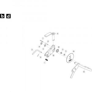 34 Wielkolom, rechts passend voor KUHN GF5202