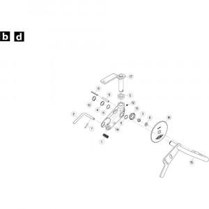 38 Wielkolom, rechts passend voor KUHN GF5202