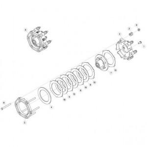 03 Koppelbegrenzende koppeling passend voor KUHN FC313TG