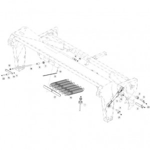 09 Ophangingssysteem passend voor KUHN FC313TG