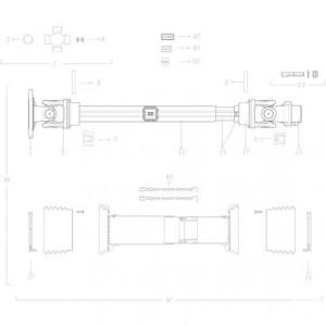 40 Transmissie 2 passend voor KUHN FC313TG
