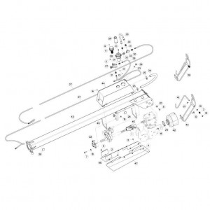 05 Koppeling, trekstang passend voor KUHN FC313TG-FFRA