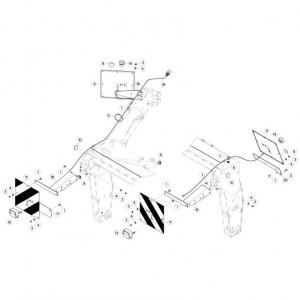 23 Verlichting passend voor KUHN FC313TG-FFRA