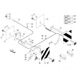 23 Verlichting 1 passend voor KUHN FC350G