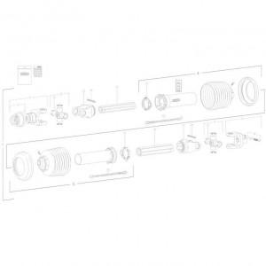 25 Transmissie 1 passend voor KUHN FC350G