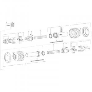 28 Transmissie 2 passend voor KUHN FC350G