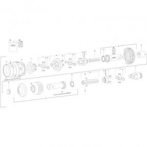30 Transmissie 4 passend voor KUHN FC350G