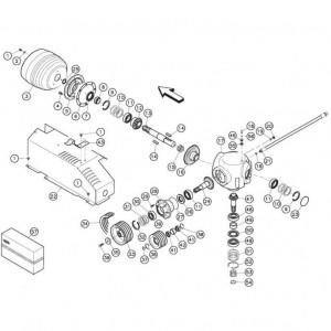 05 Haakse tandwielkast passend voor KUHN FC352MN