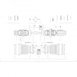 108 Transmissie 3 passend voor KUHN GF10802T