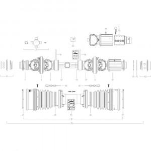 109 Transmissie 4 passend voor KUHN GF10802T