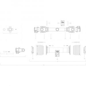 111 Transmissie 6 passend voor KUHN GF10802T