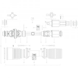 112 Transmissie 7 passend voor KUHN GF10802T