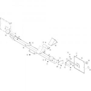 13 Verlichting, voorzijde 3 passend voor KUHN GF10802T
