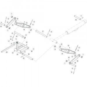 18 Trekstang 3 passend voor KUHN GF10802T