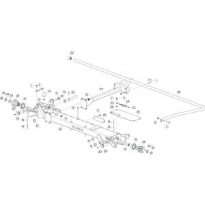 18 Tussenwing 2, rechts 1 passend voor KUHN GF10802TGII