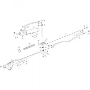 29 Hydrauliek, voorzijde 2 passend voor KUHN GF10802TGII