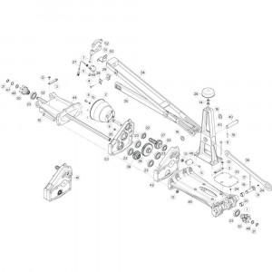 14 Tussenwing 1, rechts 1 passend voor KUHN GF13002