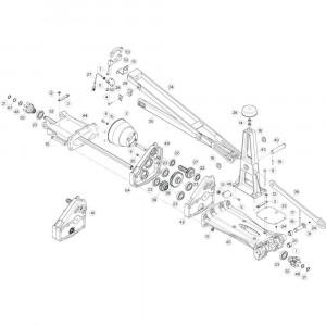 15 Tussenwing 1, rechts 2 passend voor KUHN GF13002