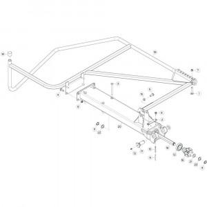27 Buitenwing, links 2 passend voor KUHN GF13002