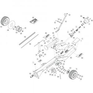 02 Trekstang 1 passend voor KUHN GF13002